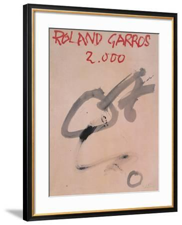 Roland Garros, 2000-Antoni Tapies-Framed Collectable Print