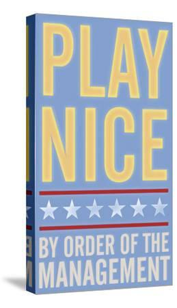 Play Nice-John Golden-Stretched Canvas Print