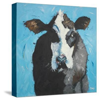 Cow, no. 302-Roz-Stretched Canvas Print