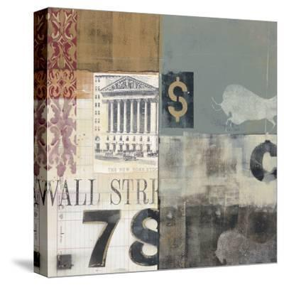 Bull Shares-Alec Parker-Stretched Canvas Print