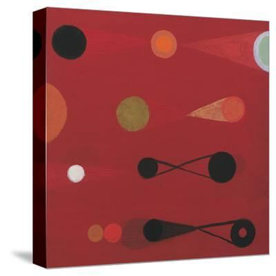 Red Seed, no. 13-Bill Mead-Stretched Canvas Print