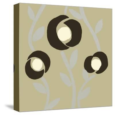 Fiori Olive-Denise Duplock-Stretched Canvas Print