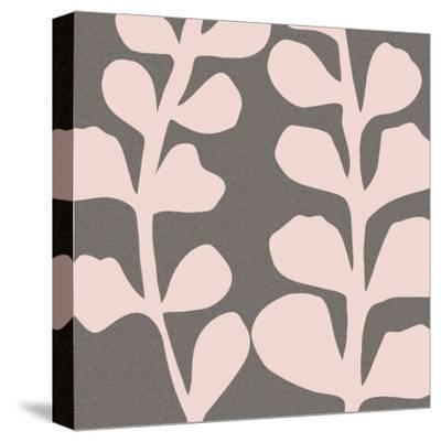 Maidenhair Shell Pink-Denise Duplock-Stretched Canvas Print