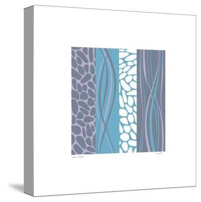 Pebble Stream-Denise Duplock-Stretched Canvas Print