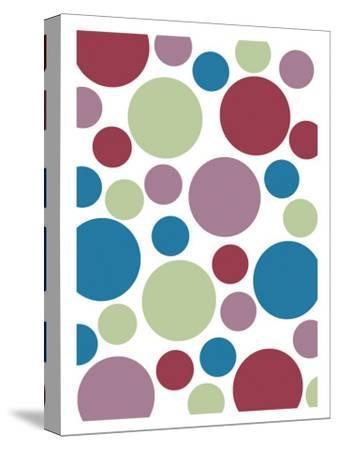 Tutti-Frutti Spots-Denise Duplock-Stretched Canvas Print
