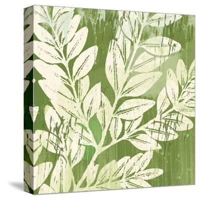 Meadow Leaves-Erin Clark-Stretched Canvas Print