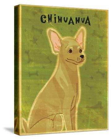 Chihuahua (tan)-John Golden-Stretched Canvas Print
