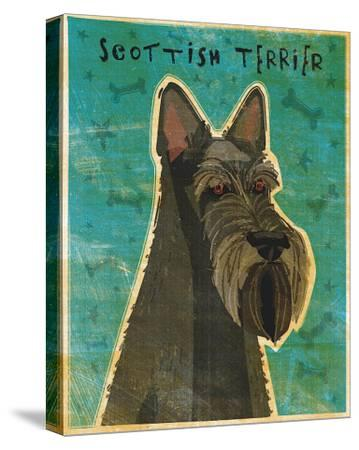 Scottish Terrier-John Golden-Stretched Canvas Print