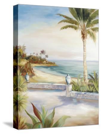 Beach Villa-Marc Lucien-Stretched Canvas Print