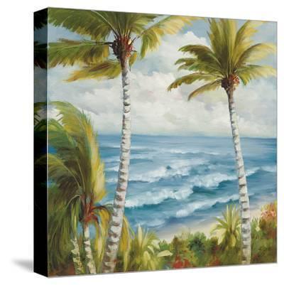 Seaside Escape-Marc Lucien-Stretched Canvas Print