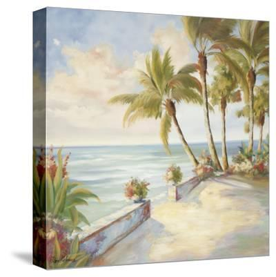 Seaside Stroll-Marc Lucien-Stretched Canvas Print