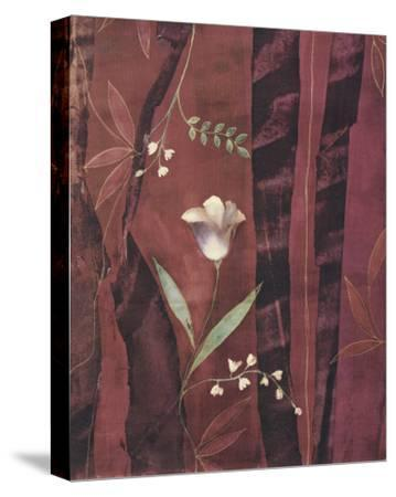 Chenille Tulips-Muriel Verger-Stretched Canvas Print