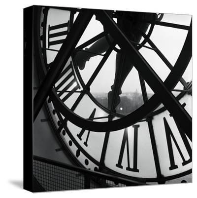Orsay Clock-Tom Artin-Stretched Canvas Print
