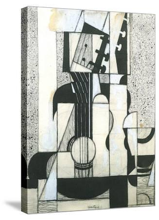 Still Life with Guitar-Juan Gris-Stretched Canvas Print