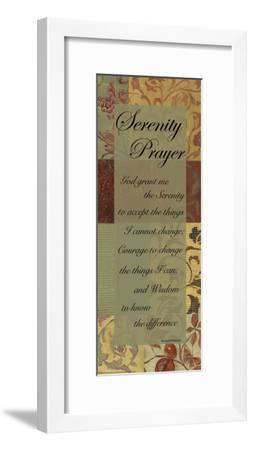 Serenity Prayer-Smith Haynes-Framed Art Print