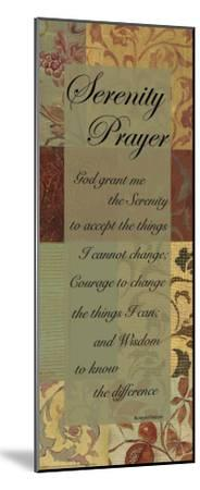 Serenity Prayer-Smith Haynes-Mounted Art Print