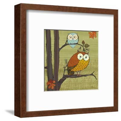 Awesome Owls I-Paul Brent-Framed Art Print