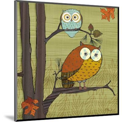 Awesome Owls I-Paul Brent-Mounted Art Print