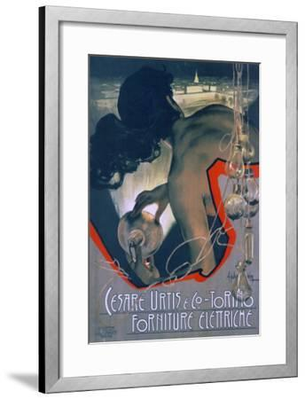 Cesare Urtis and Co-Adolfo Hohenstein-Framed Art Print