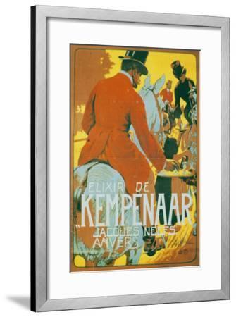 Elixir de Kempenaar-Adolfo Hohenstein-Framed Art Print