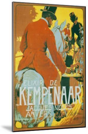 Elixir de Kempenaar-Adolfo Hohenstein-Mounted Art Print