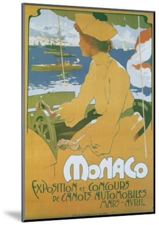 Monaco Exposition et Concours 1904-Adolfo Hohenstein-Mounted Art Print