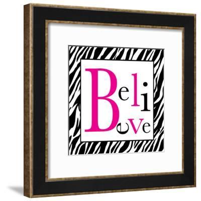 Believe-Louise Carey-Framed Art Print