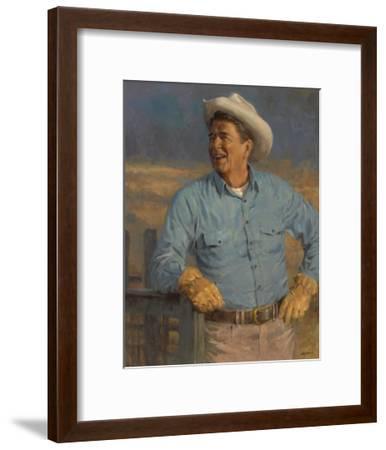 Reagan-Andy Thomas-Framed Art Print