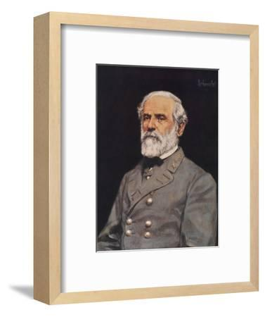 Robert E. Lee-Bradley Schmehl-Framed Art Print