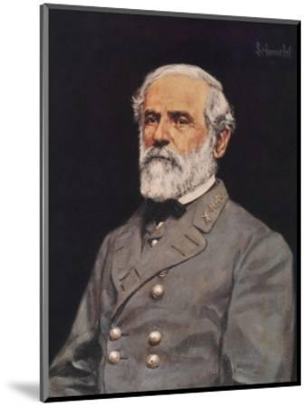 Robert E. Lee-Bradley Schmehl-Mounted Art Print