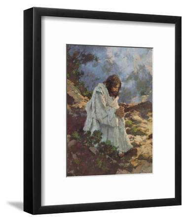 Not By Bread Alone...-Michael Dudash-Framed Art Print
