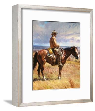 An American Icon-Martin Grelle-Framed Art Print