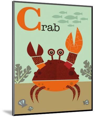Crab-Jenn Ski-Mounted Art Print