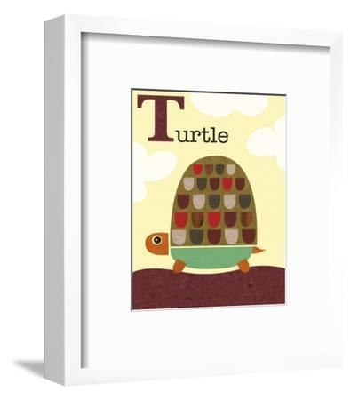 Turtle-Jenn Ski-Framed Art Print