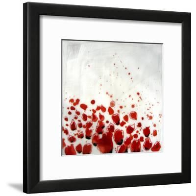 Red Drops VIII--Framed Art Print