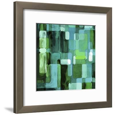 Modular Tiles II-James Burghardt-Framed Art Print