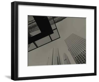 Skyrise View VI Art Print by Tang Ling | Art com