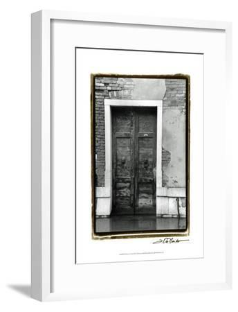 The Doors of Venice III-Laura Denardo-Framed Art Print