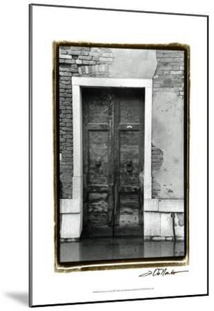 The Doors of Venice III-Laura Denardo-Mounted Art Print