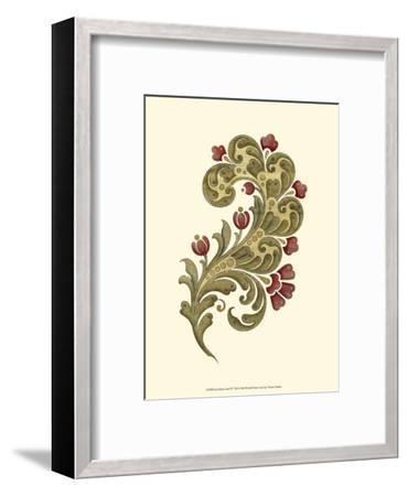 Jacobean Leaf II--Framed Art Print