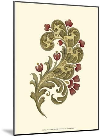 Jacobean Leaf II--Mounted Art Print