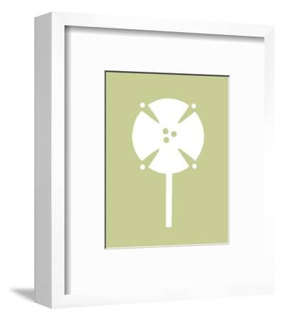 Simple Silhouette I--Framed Art Print
