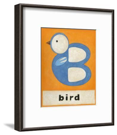 B is for Bird-Chariklia Zarris-Framed Art Print