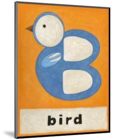 B is for Bird-Chariklia Zarris-Mounted Art Print