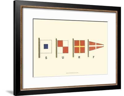 Surf--Framed Art Print