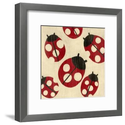 Best Friends - Ladybugs-Chariklia Zarris-Framed Art Print