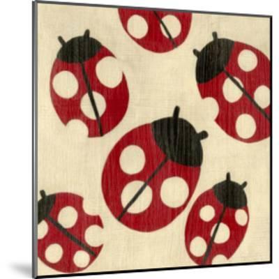 Best Friends - Ladybugs-Chariklia Zarris-Mounted Art Print