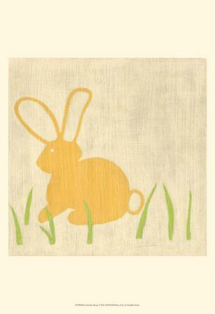 Best Friends - Bunny-Chariklia Zarris-Art Print