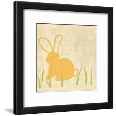 Best Friends - Bunny-Chariklia Zarris-Framed Art Print