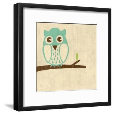 Best Friends - Owl-Chariklia Zarris-Framed Art Print